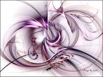 Digital Fraktal Kurven von bilddesign-by-gitta