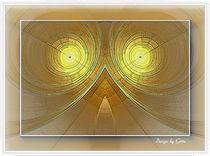 Digital Fraktal Modern 2 von bilddesign-by-gitta