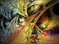Digital Fraktal Oriental by bilddesign-by-gitta