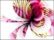 Digital Fraktale Blume von bilddesign-by-gitta