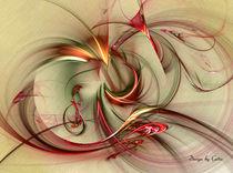 Digital Fraktale bunte Streifen von bilddesign-by-gitta