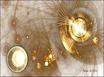 Digital Fraktal Leuchten 1 von bilddesign-by-gitta