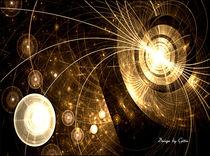 Digital Fraktale Leuchten 4 von bilddesign-by-gitta