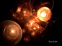 Digital Fraktale Leuchten 6 von bilddesign-by-gitta