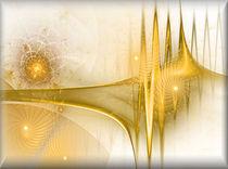 Digital Fraktale Sonne von bilddesign-by-gitta