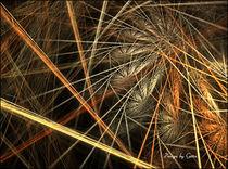 Digital Fraktaler Stroh von bilddesign-by-gitta