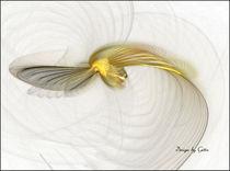 Digital Fraktaler Vogel von bilddesign-by-gitta