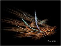 Digital Fraktales Nest von bilddesign-by-gitta