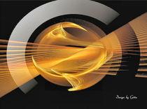 Digital Fraktaler Ring von bilddesign-by-gitta