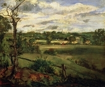 View of Highgate from Hampstead Heath von John Constable