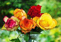 fünf Rosen von Uwe Ruhrmann