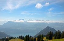 Bergwelt VII von Uwe Ruhrmann