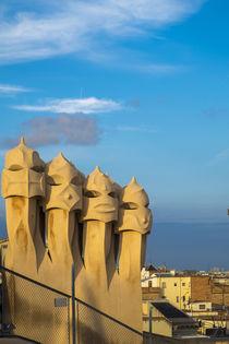 La Pedrera by Antoni Gaudi in Barcelona