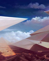 Surreal Pyramids by Živko Kondic