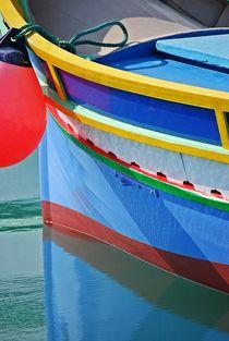 'fisherboats in Marsaxlokk, Malta... 11' von loewenherz-artwork