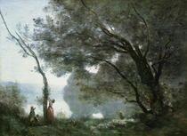 Souvenir of Montefontaine von Jean Baptiste Camille Corot