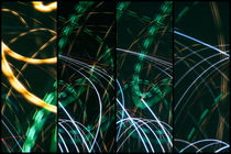 Lightpainting Quads Art Print Photograph 6 by John Williams