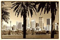 Skyline von Sydney von Christian Hallweger