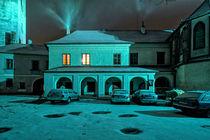 Haus im Wintersturm by Christian Hallweger
