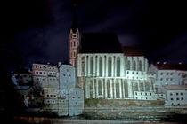 Cezky Krumlov bei Nacht von Christian Hallweger