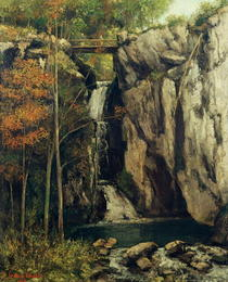 The Chasm at Conches by Gustave Courbet
