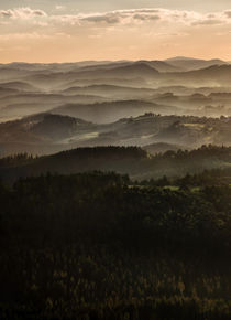 Sunset in Beskidy Mountains von Jarek Blaminsky