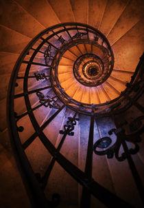 Ornamented spiral staircase by Jarek Blaminsky
