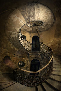 Forgotten Staircase by Jarek Blaminsky