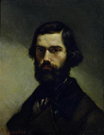 Portrait of Jules Valles  by Gustave Courbet