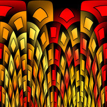 Squares pattern by Gaspar Avila