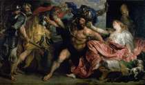 The Arrest of Samson von Sir Anthony van Dyck