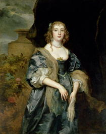 Anne Carr, Countess of Bedford by Sir Anthony van Dyck