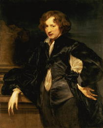 Self portrait by Sir Anthony van Dyck