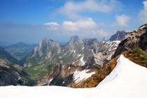 Im Alpstein by Gerhard Albicker