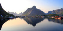 Reine Panorama by Gerhard Albicker