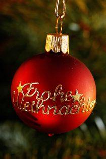 Frohe Weihnachten! von Anja  Bagunk