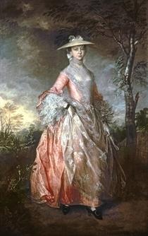 Mary, Countess Howe von Thomas Gainsborough