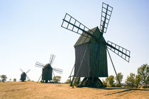Windmills in row von Thomas Matzl