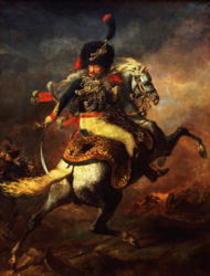 Officer of the Hussars von Theodore Gericault