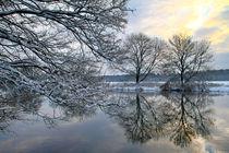 Die Ruhr im Winter von Bernhard Kaiser