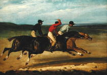 The Horse Race  von Theodore Gericault