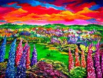 Blühende Landschaft von Eberhard Schmidt-Dranske