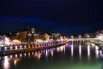 Villach bei Nacht  von Mathias Karner
