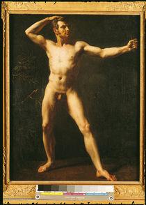Study of a Man  von Theodore Gericault