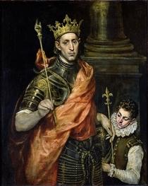 St. Louis  von El Greco