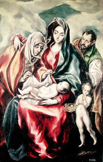The Holy Family  von El Greco