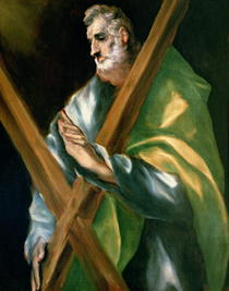 St. Andrew  by El Greco