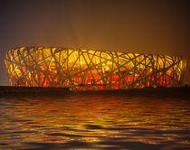 Peking Nationalstadion am Wasser von ny