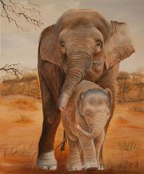 asiatische Elefanten von atelierwolf