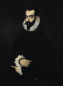 Portrait of Juan Alfonso de Pimentel y Herrera by El Greco